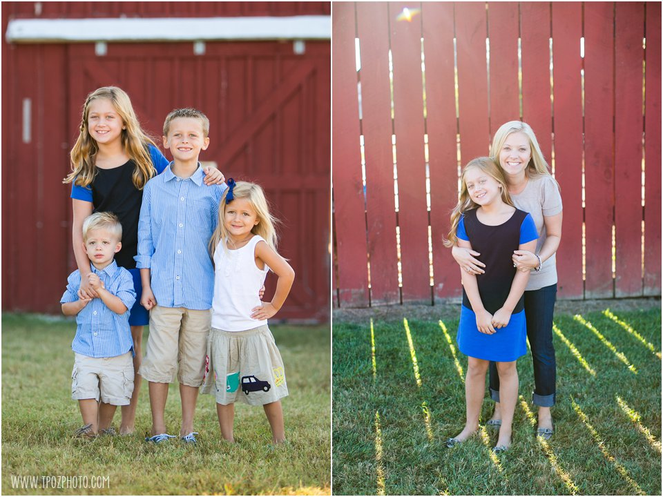 Kinder Farm Park Family Portraits