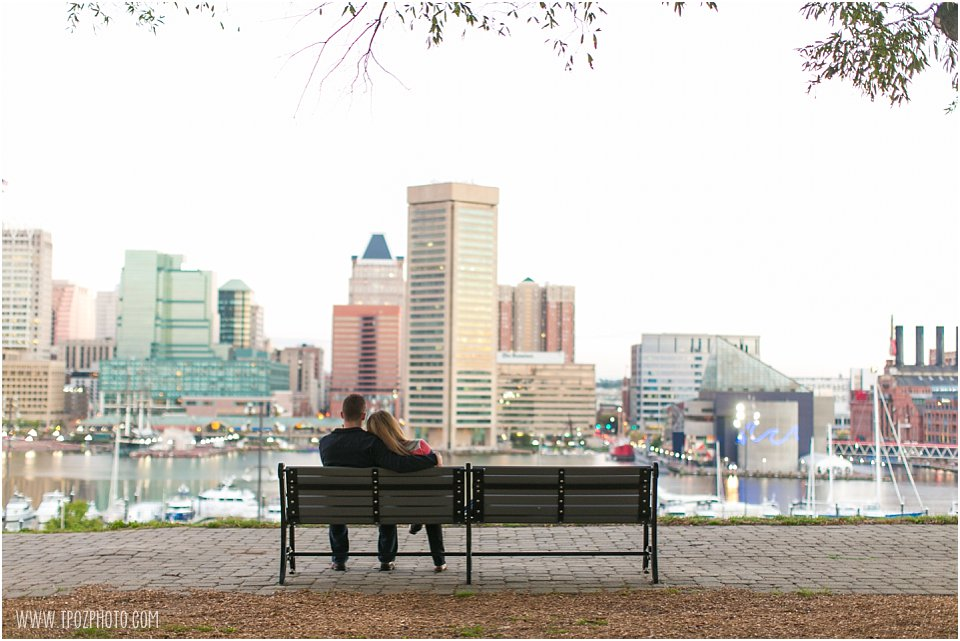 Baltimore Sunrise Engagement Session