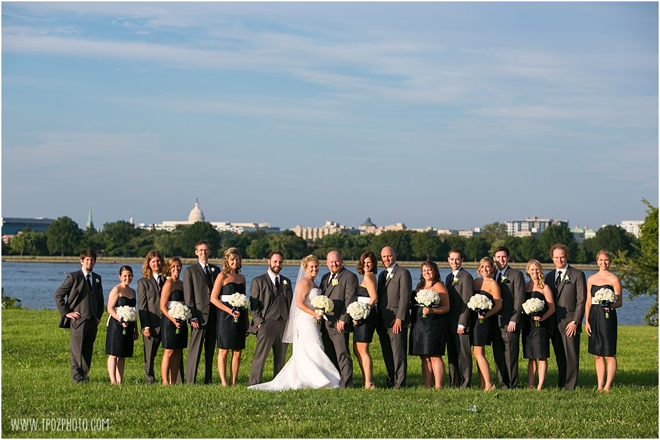 Gravelly Point Park Wedding Portraits