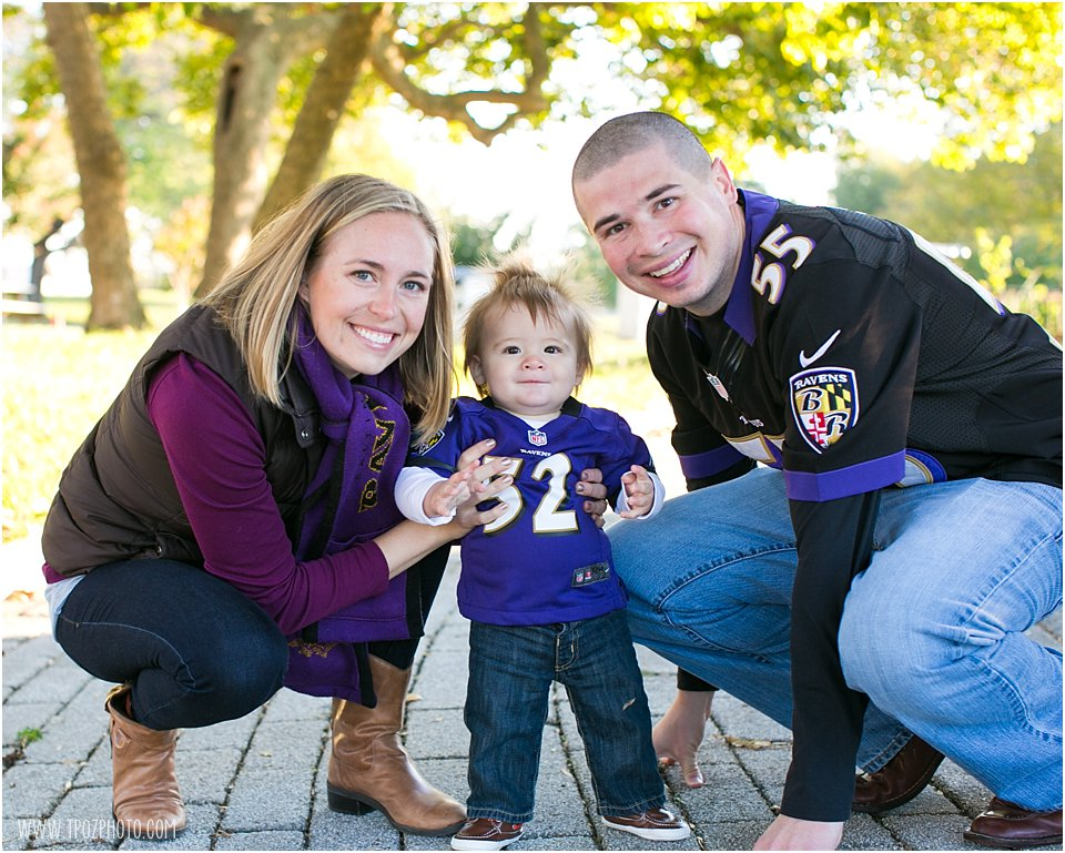 Ravens Family Portrait