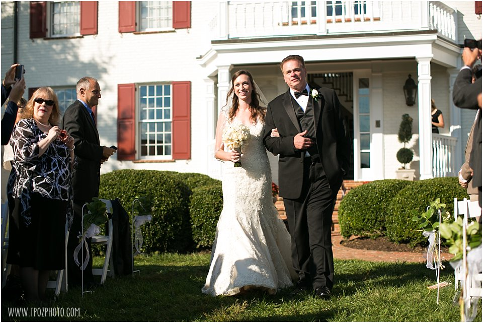 Sagamore Wedding Ceremony