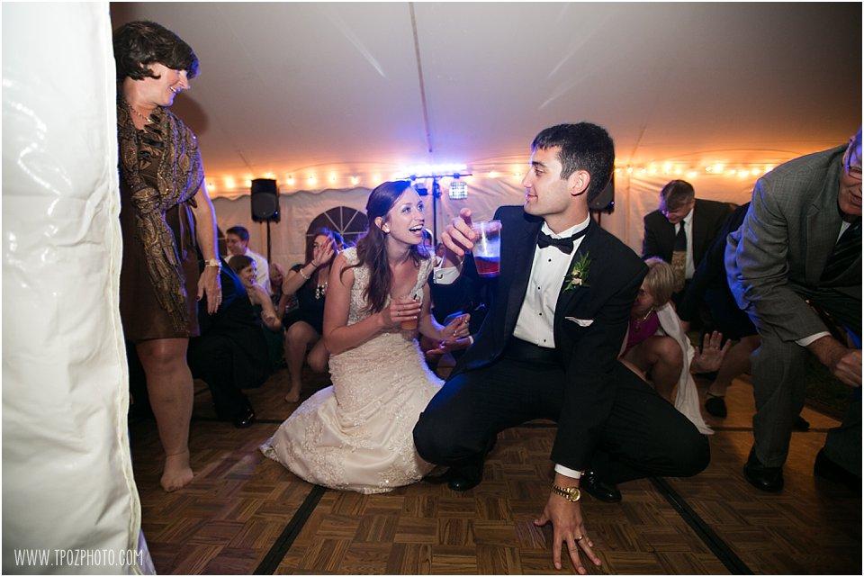 Sagamore Farms Wedding Reception