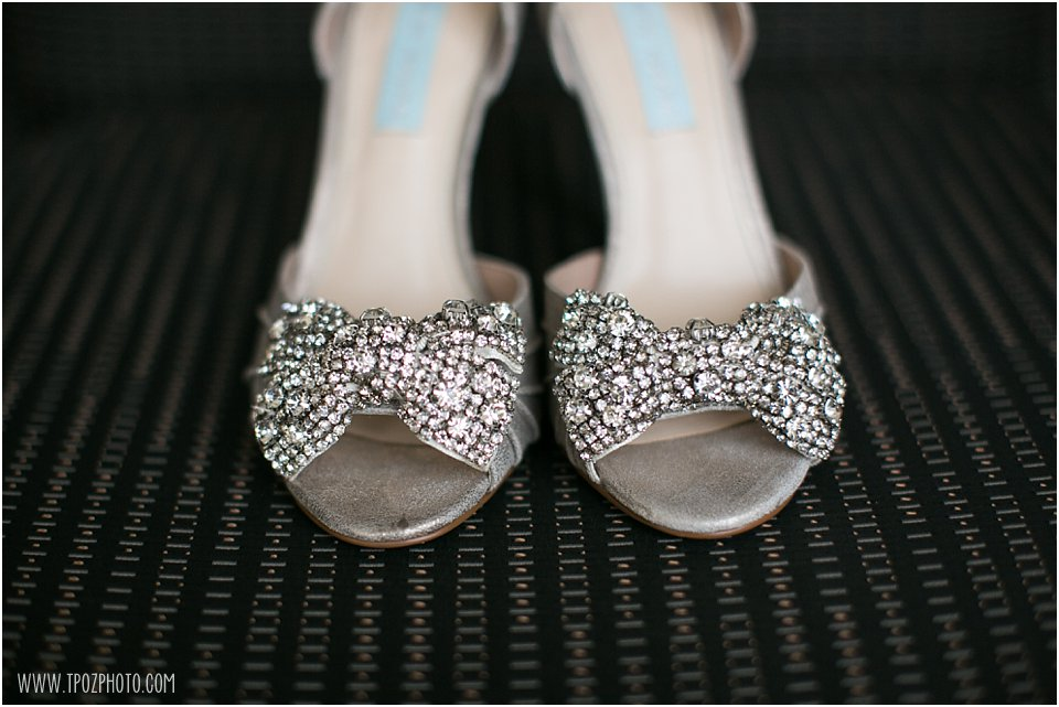 Betsy Johnson Silver Sparkly Shoes - Baltimore Waterfront Marriott