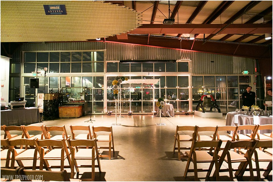 Baltimore Museum of Industry Wedding Ceremony