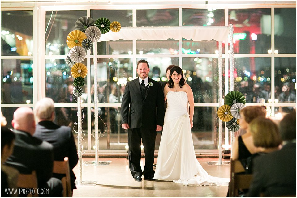 Baltimore Museum of Industry Wedding Ceremony