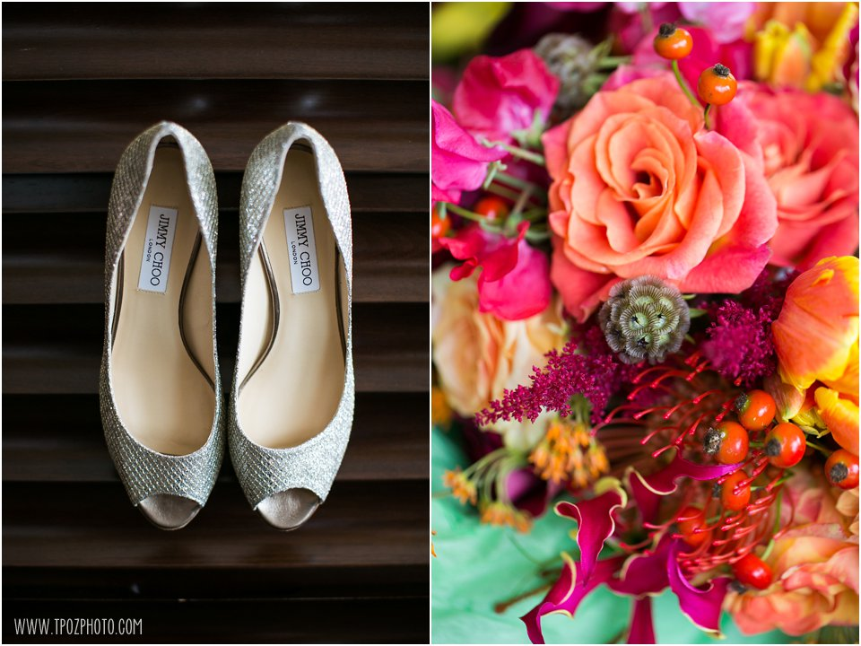 Jimmy Choo Glittery Wedding Shoes