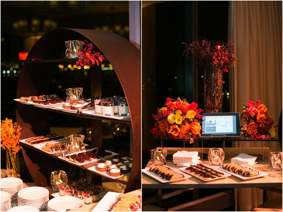 Dessert Stations - Wedding Reception at the Four Seasons Baltimore