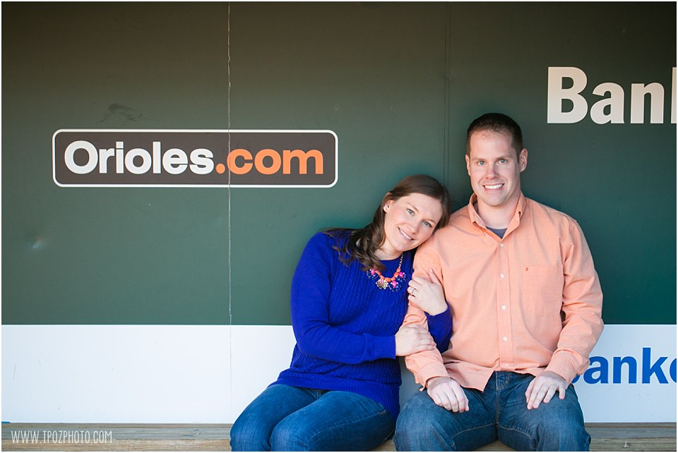 Orioles Engagement Photos