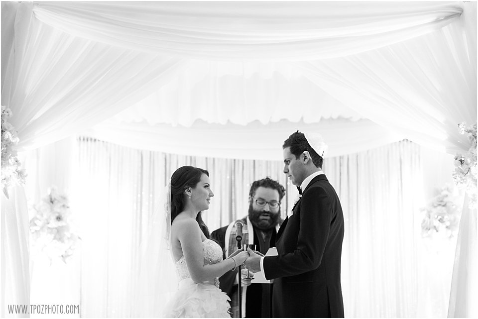 Suburban Club Wedding Ceremony