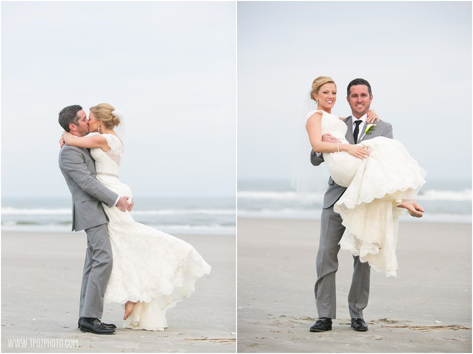 Beach at Avalon New Jersey Wedding Photos