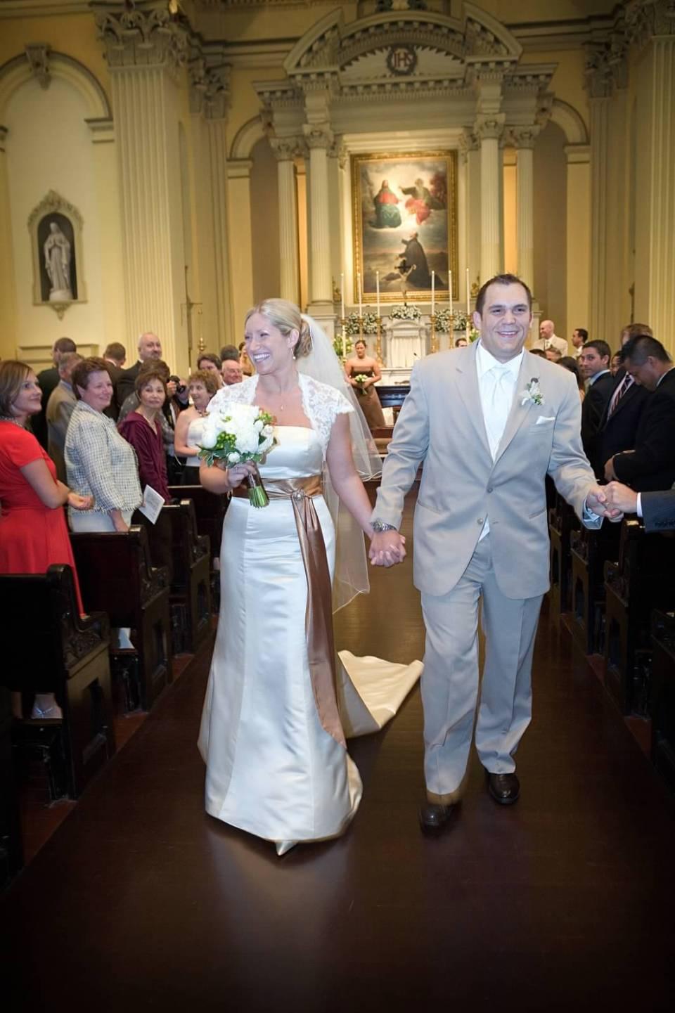 St. Ignatius Church Baltimore Wedding Ceremony
