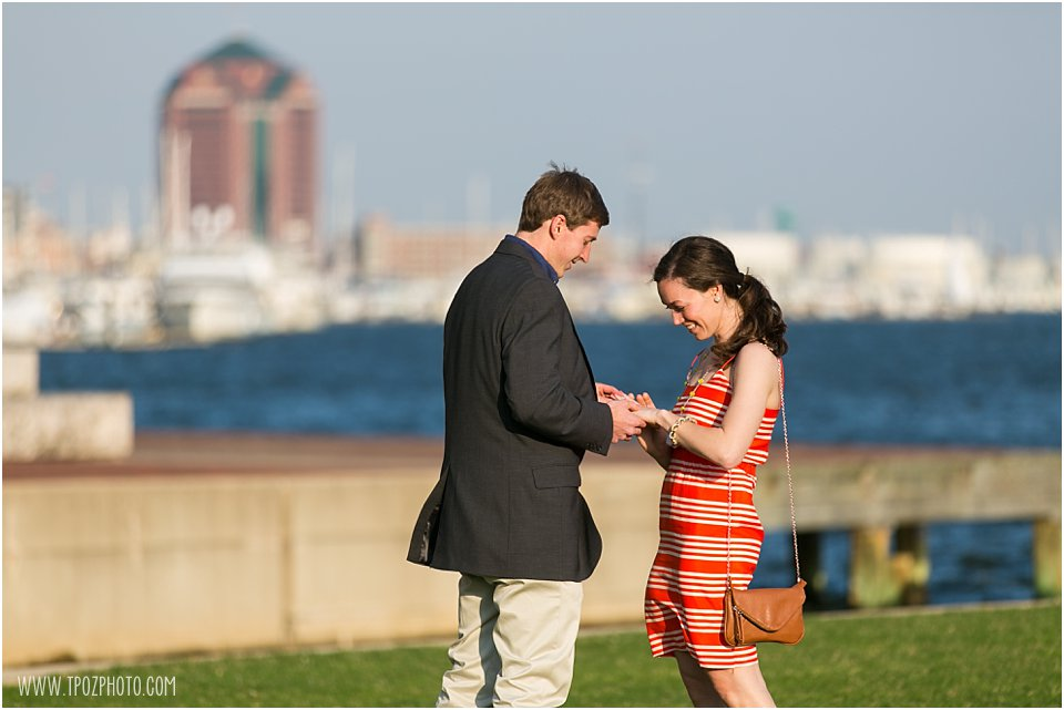 Fells Point Engagement Proposal