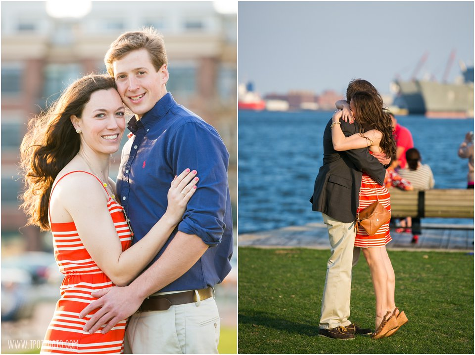 Fells Point Engagement Photos