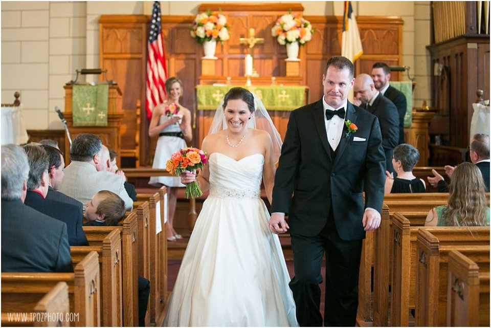 Christ Church Baltimore Wedding Ceremony