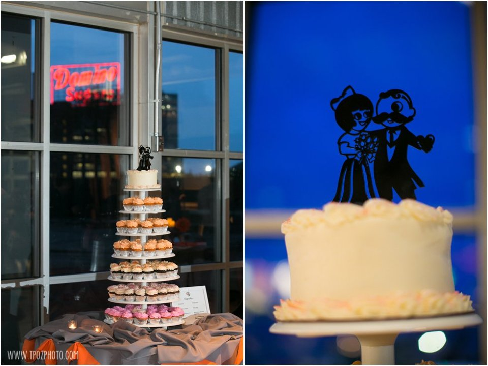Wedding at the Baltimore Museum of Industry