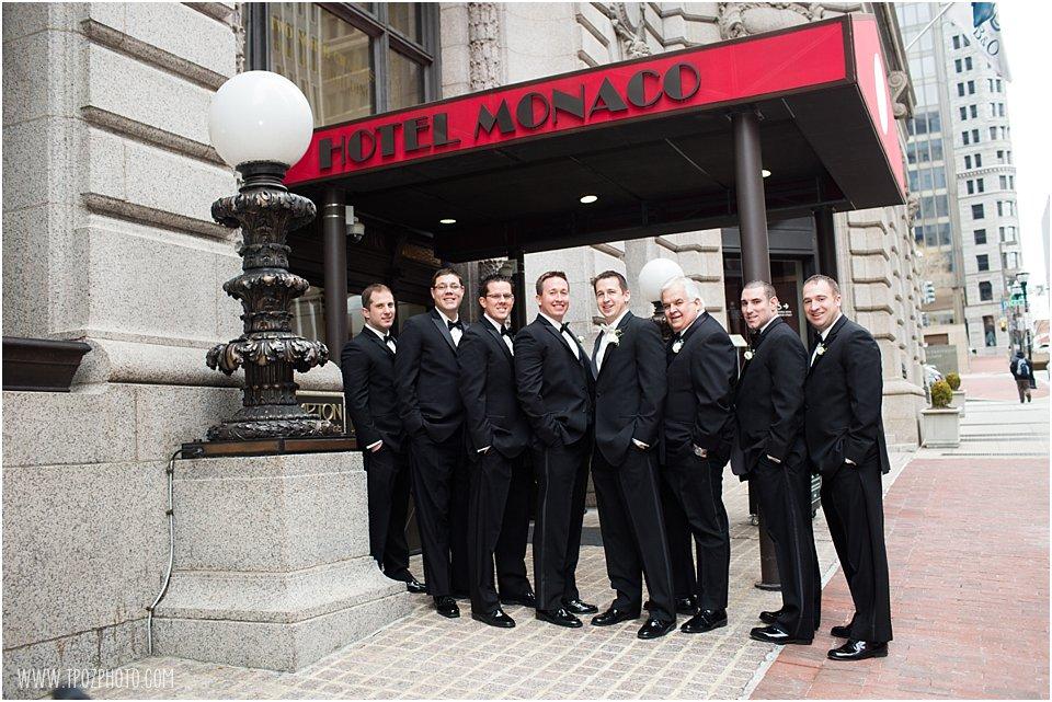 Hotel Monaco Baltimore Wedding •  tPoz Photography  • www.tpozphoto.com