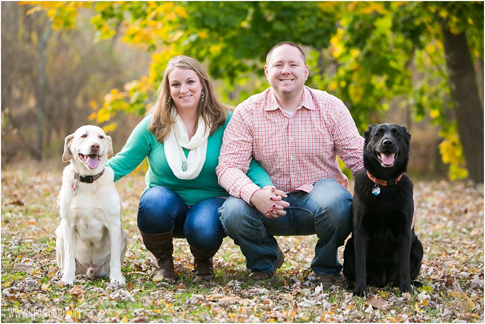 Engagement Session with Dogs  •  tPoz Photography •  www.tpozphoto.com