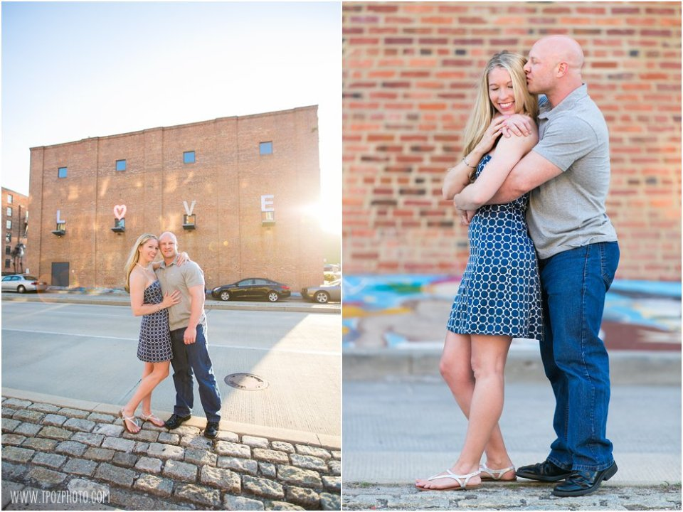 Federal Hill Engagement Photos