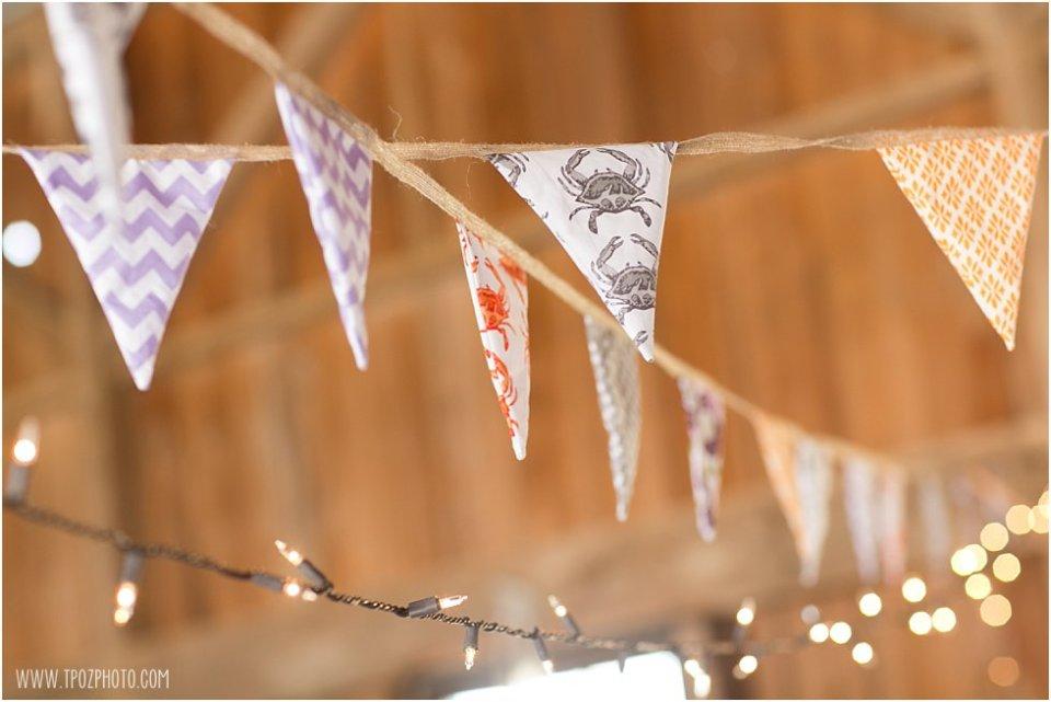 Bunting - Wedding Reception