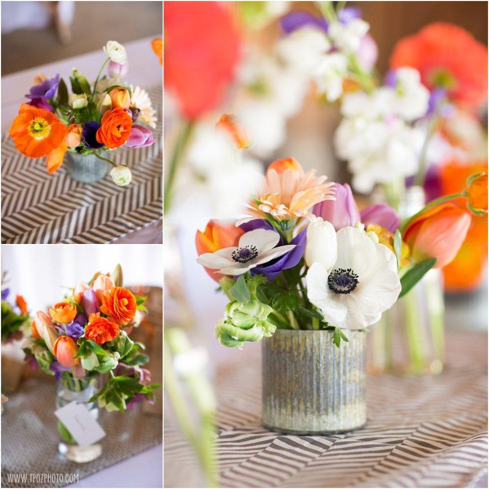 Local Color Flowers - Wedding Reception