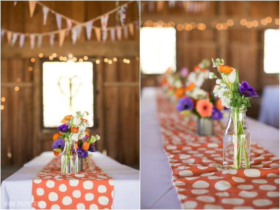 Local Color Flowers - Wedding Reception