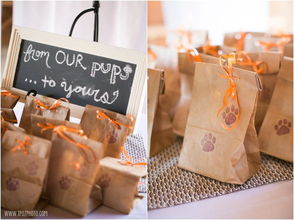 Dog Treat Wedding Favors