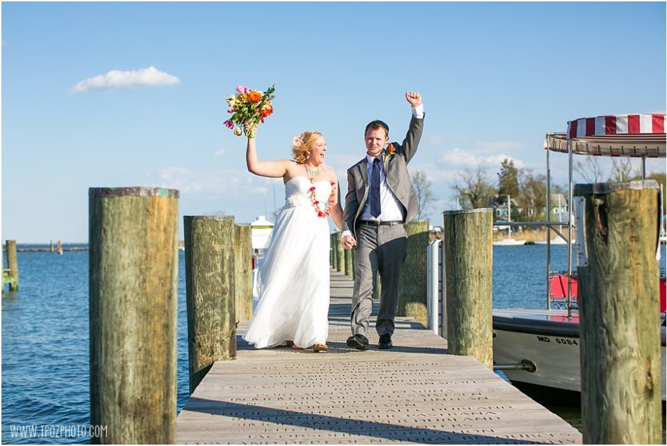Annapolis Maritime Museum Wedding Reception • tPoz Photography • www.tpozphoto.com