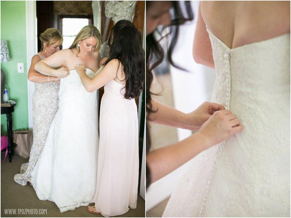 Wedding prep at the Elk Manor Winery  •  tPoz Photography  •  www.tpozphoto.com