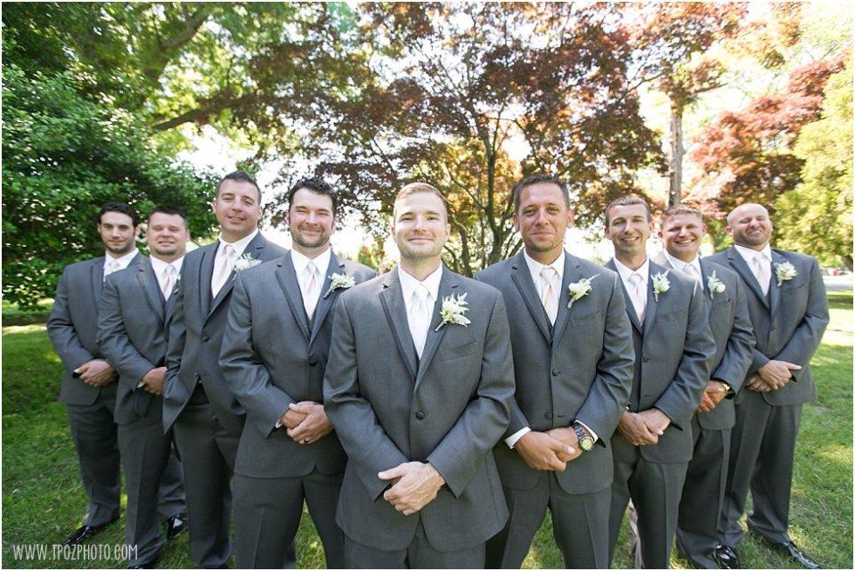Groomsmen Wedding at Elk Manor Winery  •  tPoz Photography  •  www.tpozphoto.com