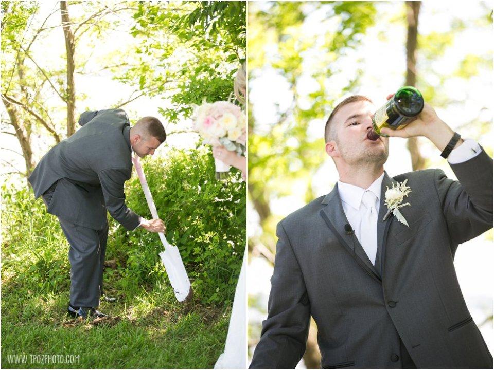 Wedding Ceremony Elk Manor Winery  •  tPoz Photography  •  www.tpozphoto.com