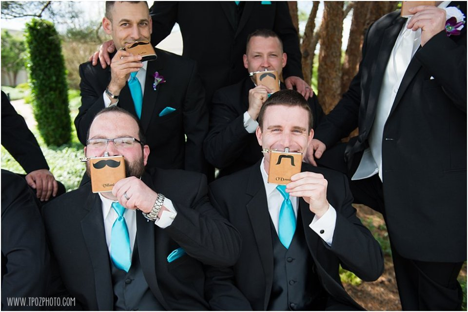 Groomsmen at Hillendale Country Club  •  tPoz Photography  •  www.tpozphoto.com