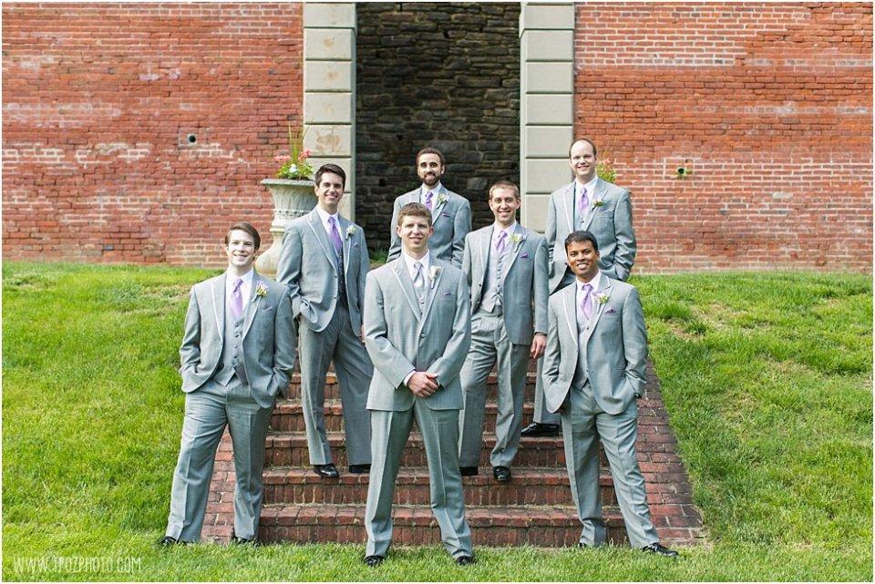 Evergreen Wedding Groomsmen •  tPoz Photography  •  www.tpozphoto.com