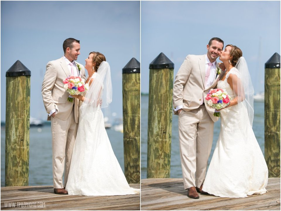 Wedding Portraits Docks of Annapolis  •  tPoz Photography  •  www.tpozphoto.com