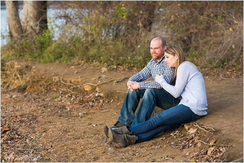 Loch Raven Reservoir Engagement Photos   •  tPoz Photography  •  www.tpozphoto.com