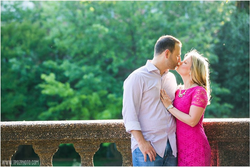 Meridian Hill Engagement Photos  •  tPoz Photography  •  www.tpozphoto.com