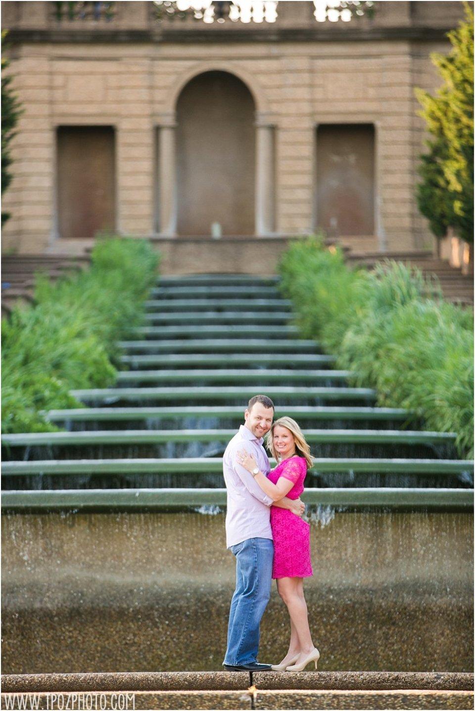 Meridian Hill Park Engagement Photos  •  tPoz Photography  •  www.tpozphoto.com