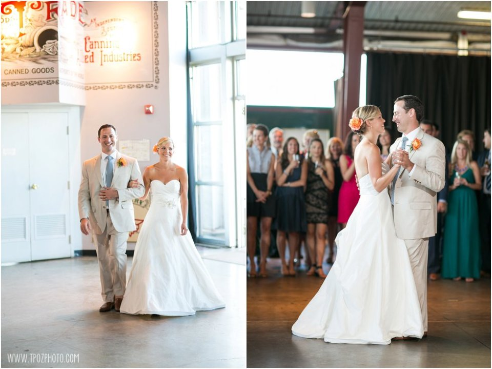 Baltimore Museum of Industry Wedding  •  tPoz Photography  •  www.tpozphoto.com