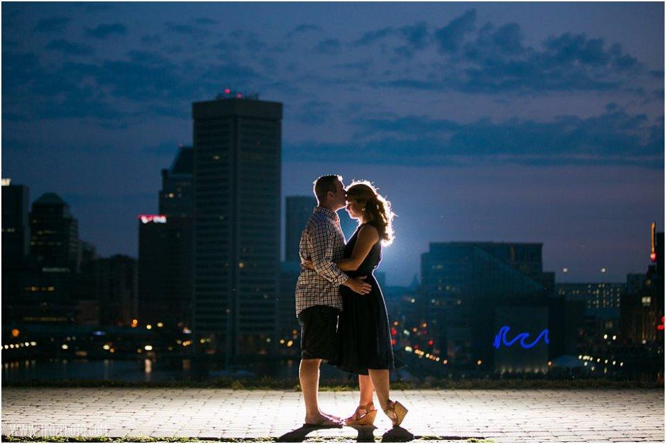 Baltimore Sunrise Engagement Photos  •  tPoz Photography  •  www.tpozphoto.com