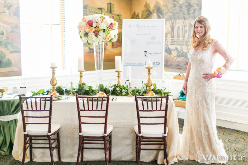Moore & Co Event Stylists - Baltimore Bride Aisle Style January 2015  •  tPoz Photography  •  www.tpozphoto.com