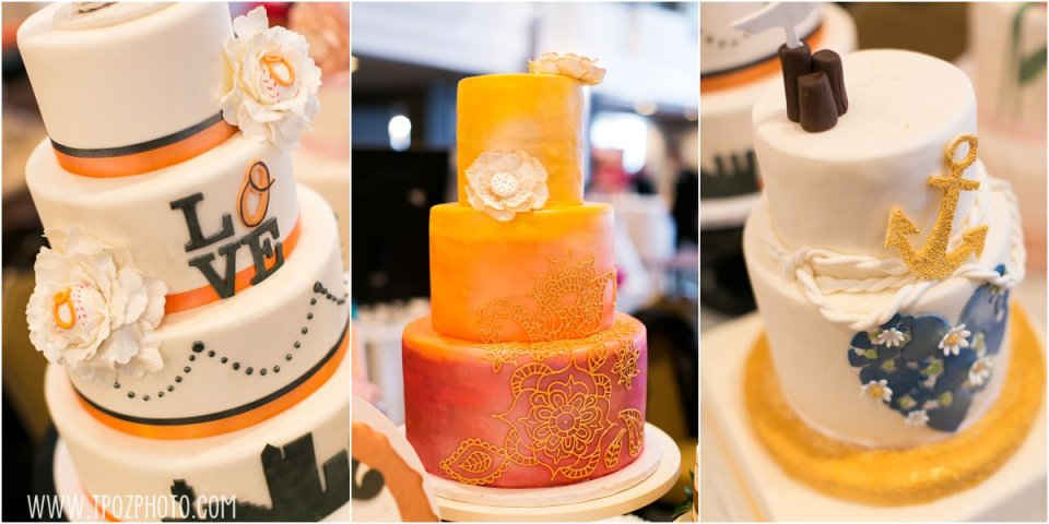 Baltimore Cakery - Baltimore Bride Aisle Style January 2015  •  tPoz Photography  •  www.tpozphoto.com