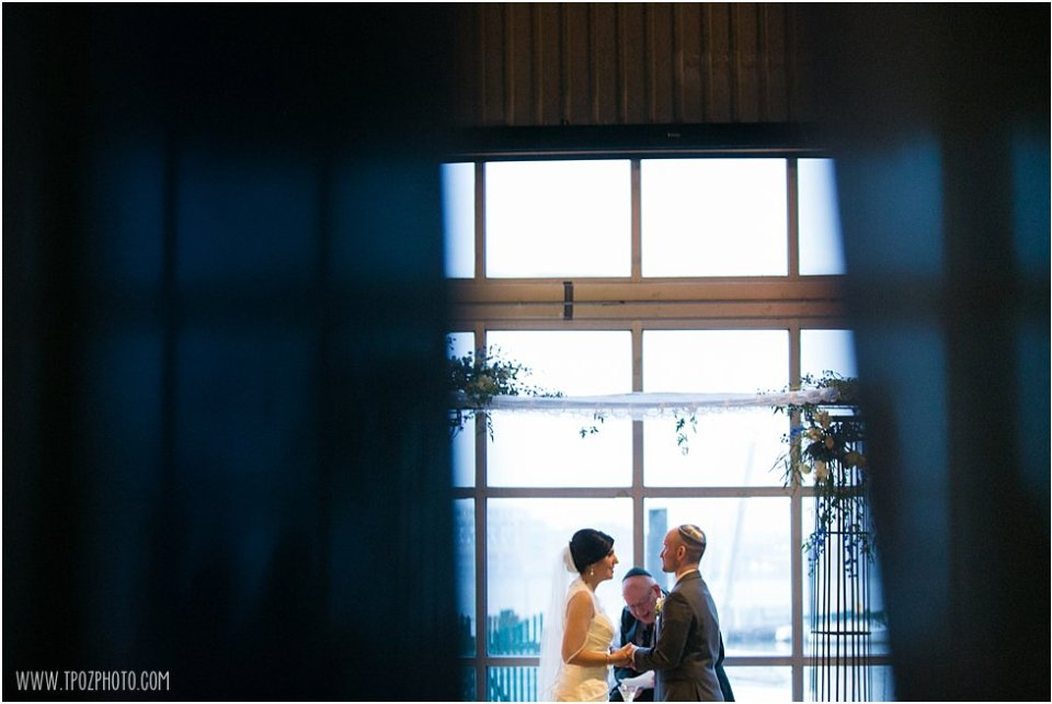 Baltimore Museum of Industry Wedding Ceremony  •  tPoz Photography  •   www.tpozphoto.com