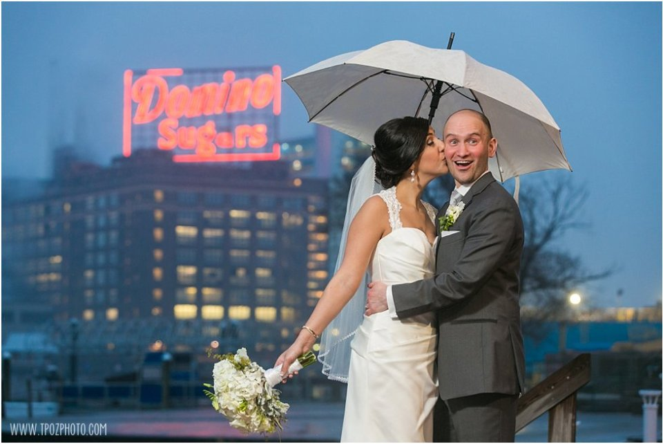 Domino Sugar Sign Wedding Photos at the Baltimore Museum of Industry   •  tPoz Photography  •   www.tpozphoto.com
