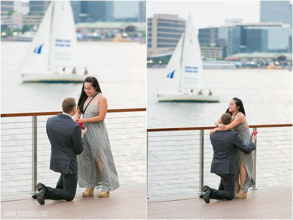 Four Seasons Baltimore Engagement Proposal  •  tPoz Photography  •  www.tpozphotoblog.com