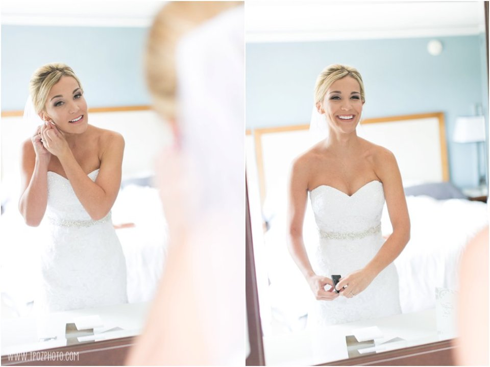 Wedding Prep at the Loews Annapolis • tPoz Photography •  www.tpozphoto.com