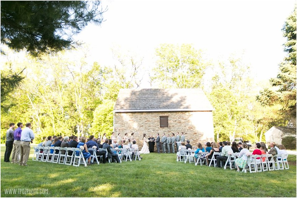 Wedding ceremony at Waverly Mansion  •  tPoz Photography  •   www.tpozphoto.com