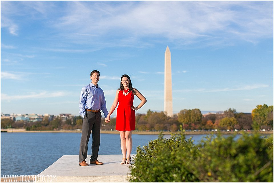 DC Engagement Photos || tPoz Photography || www.tpozphotoblog.com