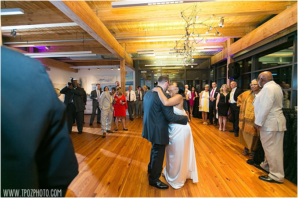 Frederick Douglass Maritime Museum wedding || tPoz Photography || www.tpozphoto.com