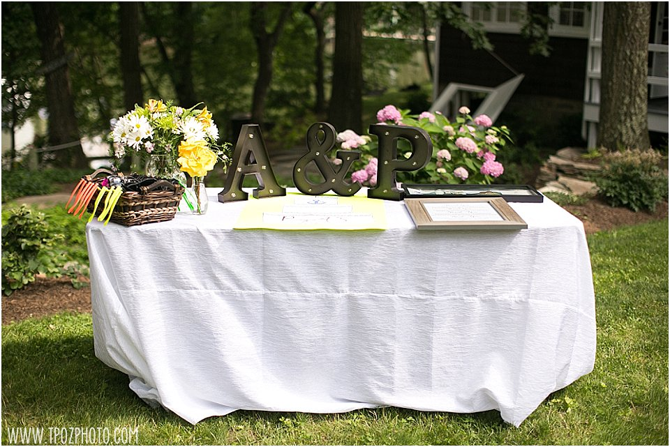 Same-sex Maryland Backyard Wedding || tPoz Photography || www.tpozphoto.com