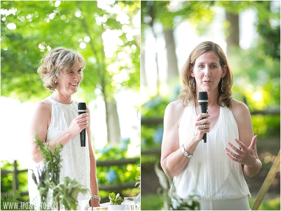 Same-sex Backyard Wedding in Maryland || tPoz Photography || www.tpozphoto.com