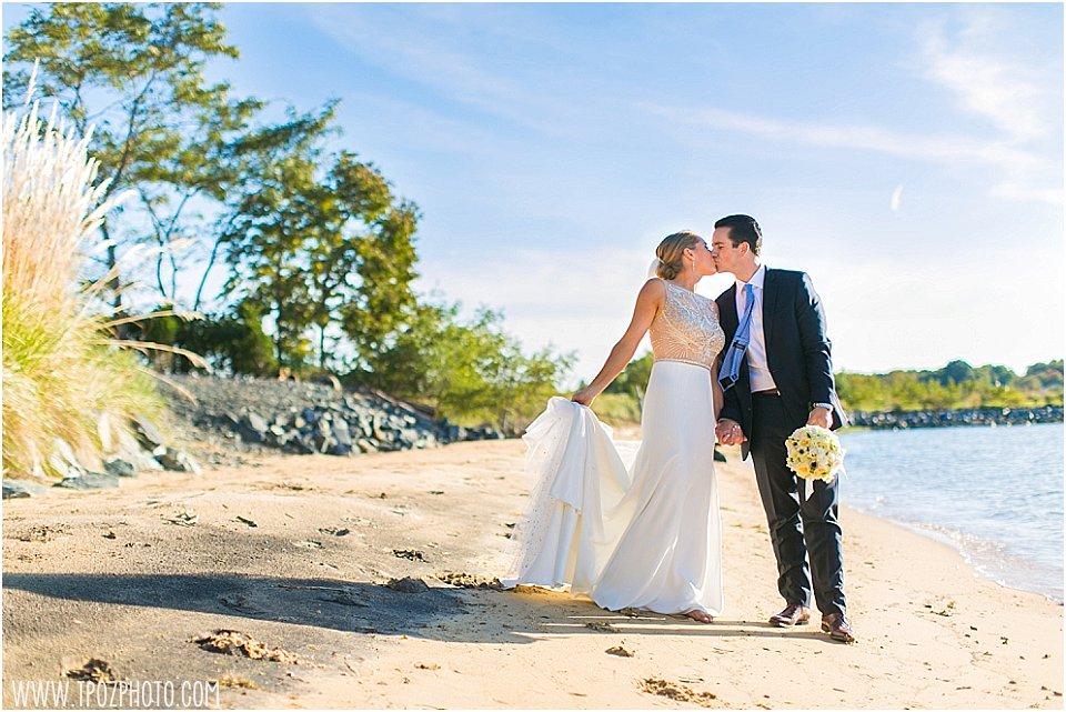 Chesapeake Bay Beach Club - Beach House Wedding || tPoz Photography || www.tpozphoto.com